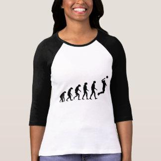 Évolution de volleyball tshirt