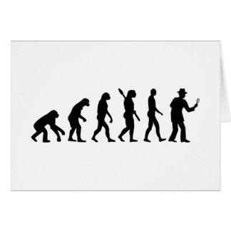 Evolution detective card