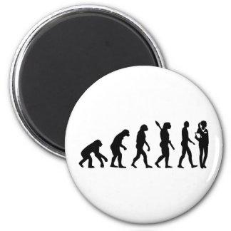 Evolution doctor's assistant magnet