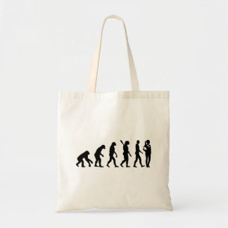 Evolution doctor's assistant tote bag