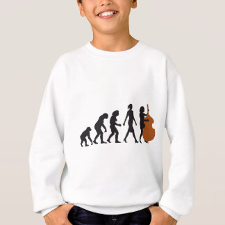 evolution double bass more player sweatshirt