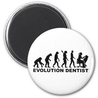 Evolution female dentist magnet