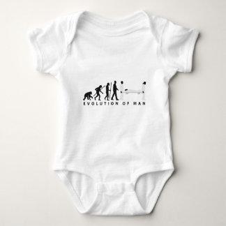 evolution female paramedic baby bodysuit