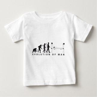 evolution female paramedic baby T-Shirt
