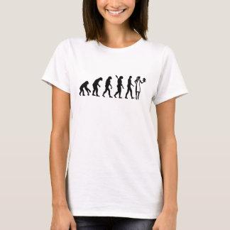 Evolution female pastry chef T-Shirt