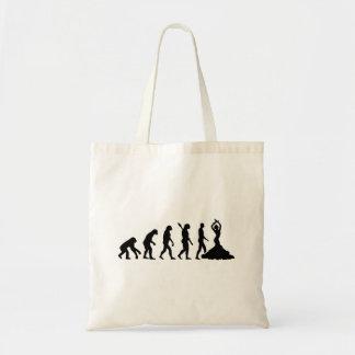 Evolution Flamenco Tote Bag