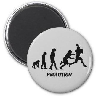 evolution football magnet