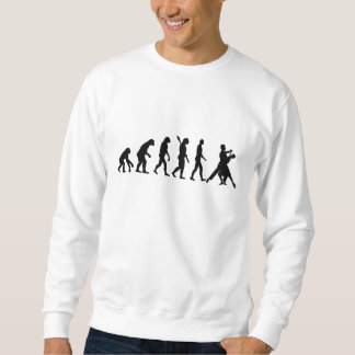 Evolution foxtrot dancing sweatshirt