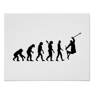 Evolution freestyle skiing poster