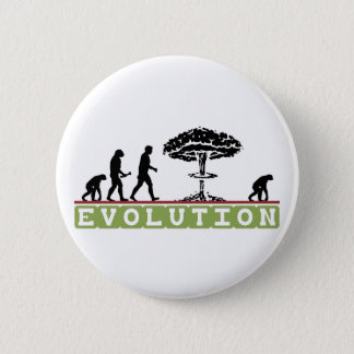 Evolution Funny Evolve 2 Inch Round Button
