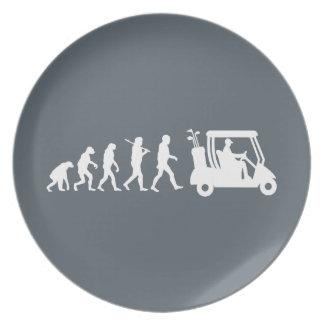 evolution golf plate