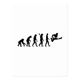 Evolution Guitar Postcard