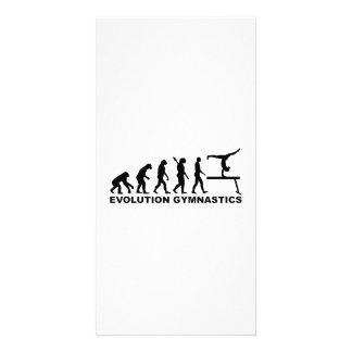 Evolution gymnastics picture card