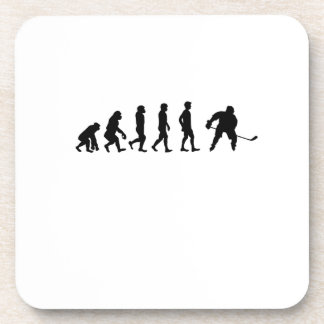 Evolution Hockey Lover Funny Gifts Coaster