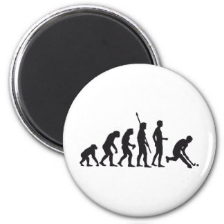 evolution hockey magnet