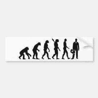 Evolution installer bumper sticker