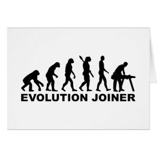 Evolution joiner card