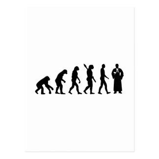 Evolution Judge Postcard