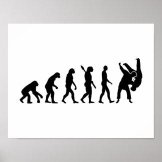 Evolution Judo Poster