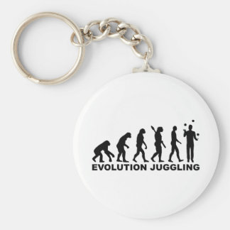 Evolution Juggling Key Chains