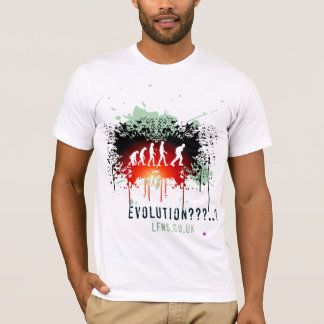 Evolution/Keep Left American Apparel T-Shirt