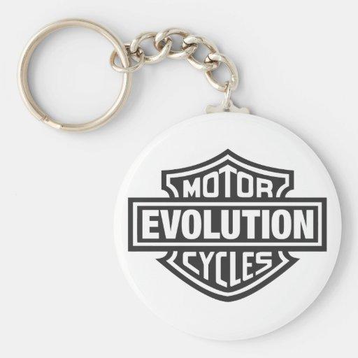Evolution Key Chains