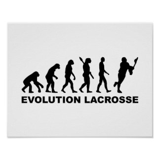 Evolution Lacrosse Poster