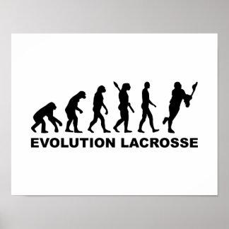 Evolution Lacrosse Poster