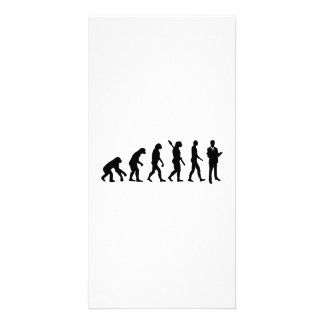 Evolution Lawyer attorney Personalized Photo Card