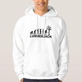 Evolution lumberjack hoodie
