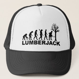 Evolution lumberjack trucker hat