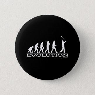 Evolution - Man - Golf 2 Inch Round Button