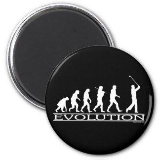 Evolution - Man - Golf Magnet