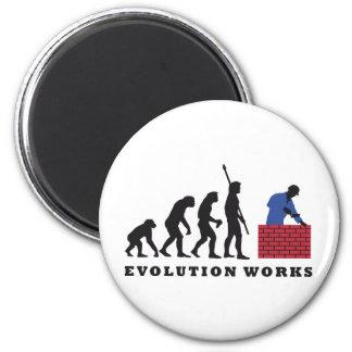 evolution mason 2 inch round magnet