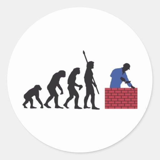 evolution mason sticker