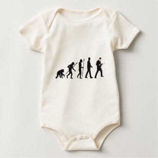 evolution mason with drill hammer baby bodysuit
