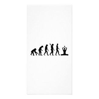 Evolution Meditation Photo Card