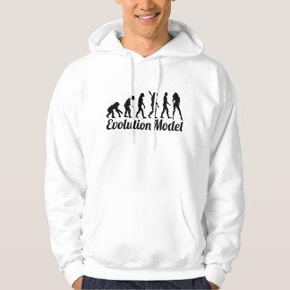 Evolution model hoodie
