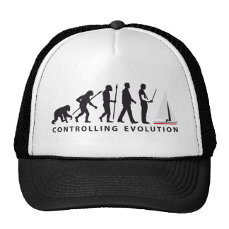 Evolution modelling ship boat trucker hat
