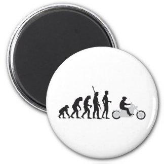evolution more biker 2 inch round magnet
