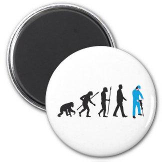 evolution more jackhammer more worker 2 inch round magnet