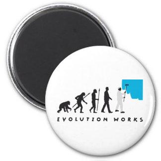 evolution more painter 2 inch round magnet