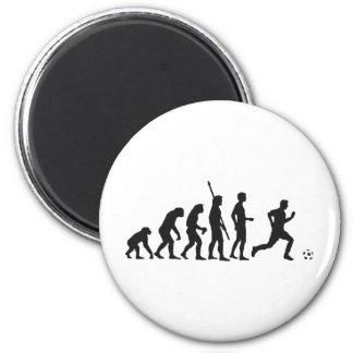 evolution more soccer 2 inch round magnet