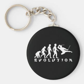 evolution Ninja Black Keychain