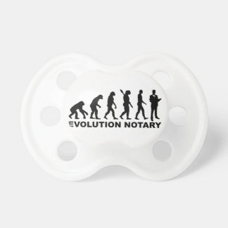 Evolution notary baby pacifiers