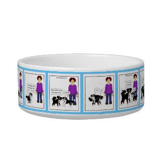 Evolution of a Canine Friendship-pet bowl (color)