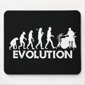 Evolution of a Drummer Mouse Pad