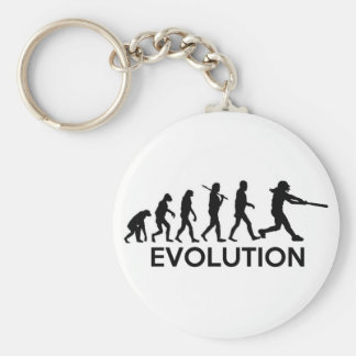 Evolution of a Softball Player Keychain