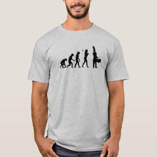 Evolution of a Tenor Drummer (light colors) T-Shirt