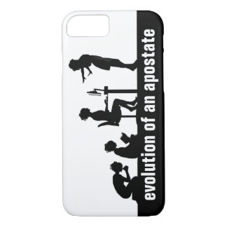 """""""Evolution of an Apostate"""" iPhone 7 Case"""